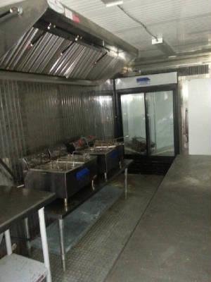 20 FT Mobile Kitchen Interior 2