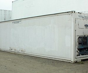 40 Refrigerated Container Exterior