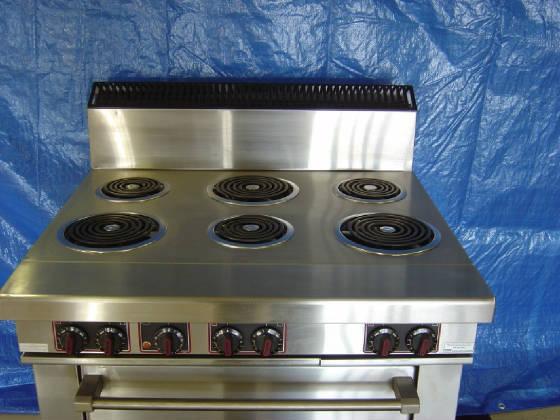 6 Burner Electric 208V