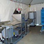 Dishwasher Tented Kitchen