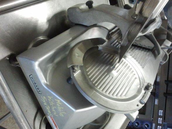 Hobart electric slicer