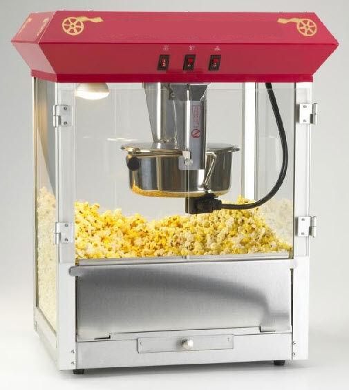 Tabletop Popcorn Machine