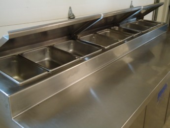 Refrigerated Sandwich Prep Table
