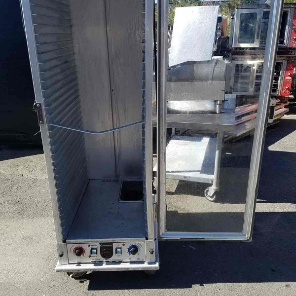 Electric clear door uninsulated hot box 2