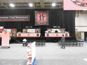 Demo cooking stations show