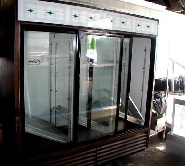 3 Door Glass Cooler
